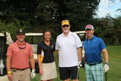 scholarship golf tournament attendees